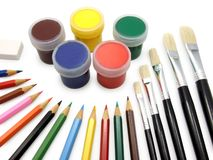 Herramientas de la pintura Fotografía de archivo libre de regalías