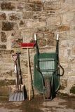 Herramientas de la yarda Foto de archivo libre de regalías