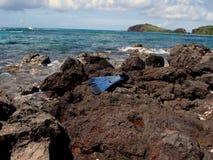 Herramientas de las aventuras, el Caribe, Puerto Rico, Culebra Imágenes de archivo libres de regalías
