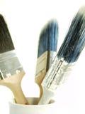 Herramientas de los pintores fotografía de archivo libre de regalías