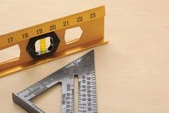 Herramientas de medición Imágenes de archivo libres de regalías
