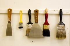 Herramientas del arte Fotografía de archivo libre de regalías