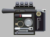 Herramientas del cambio de aceite Imagen de archivo