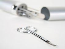 Herramientas del clavo y cortador 3 del clavo foto de archivo libre de regalías