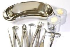 Herramientas del dentista Foto de archivo libre de regalías