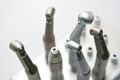 Herramientas del dentista Fotografía de archivo libre de regalías