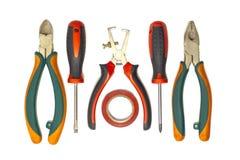 Herramientas del electricista Fotografía de archivo