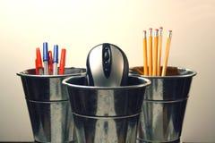 Herramientas del escritorio Imagen de archivo libre de regalías