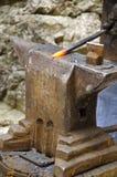 Herramientas del herrero Imagen de archivo libre de regalías