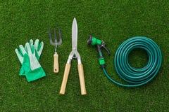 Herramientas del jardinero fotografía de archivo libre de regalías