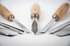 herramientas del Madera-corte fotografía de archivo libre de regalías