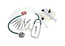 Herramientas del oficio de enfermera Fotos de archivo