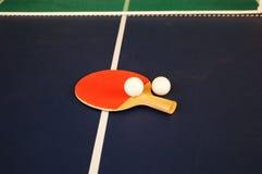Herramientas del ping-pong Imágenes de archivo libres de regalías