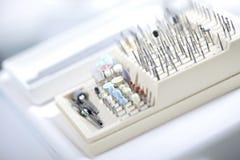 Herramientas dentales Imagenes de archivo