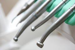 Herramientas dentales Imágenes de archivo libres de regalías