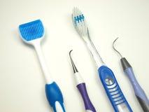 Herramientas dentales de la salud Fotos de archivo
