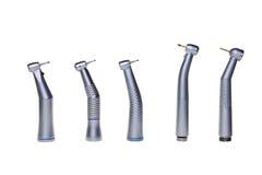 Herramientas dentales del taladro. imagenes de archivo