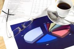 Herramientas financieras Imágenes de archivo libres de regalías