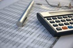 Herramientas financieras Foto de archivo libre de regalías