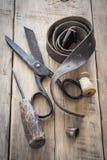 Herramientas hechas en casa del vintage Fotografía de archivo libre de regalías