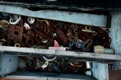 Herramientas oxidadas del metal imágenes de archivo libres de regalías