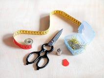 Herramientas para coser Imagen de archivo