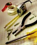 Herramientas para el mantenimiento general Fotografía de archivo libre de regalías