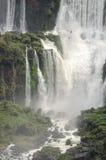 Herramientas para la cascada Iguacuwalls Imagen de archivo libre de regalías