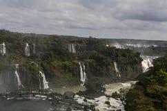 Herramientas para la cascada Iguacuwalls Foto de archivo