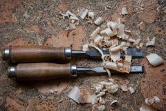 Herramientas para la madera Stock Photography