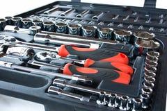 Herramientas para la reparación del coche Foto de archivo libre de regalías