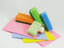 Herramientas para limpiar foto de archivo libre de regalías