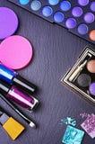 Herramientas profesionales del maquillaje Fotos de archivo libres de regalías