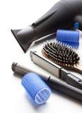 Herramientas profesionales del peluquero Imagen de archivo libre de regalías