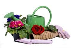 Herramientas que cultivan un huerto 2 Imagen de archivo libre de regalías
