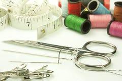 Herramientas usadas para coser Imágenes de archivo libres de regalías