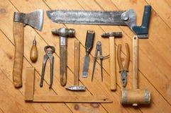 Herramientas viejas Imagen de archivo libre de regalías