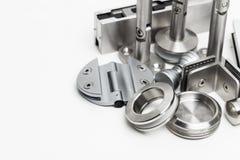 Herramientas y accesorios de las puertas Imágenes de archivo libres de regalías