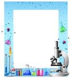 Herramientas y envases de la ciencia Fotos de archivo