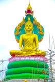 Herre buddha med konung av naga 05 arkivfoto