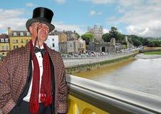 Herre $rochester på bron Arkivbilder