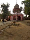 HerrekeoladevShiv tempel, Keloadev nationalpark Bharatpur Rajasthan Indien fotografering för bildbyråer