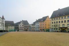 Herrenacker square, Schaffhausen, Stock Image