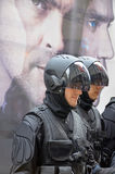 Herrenbekleidung als Roboter Lizenzfreies Stockbild