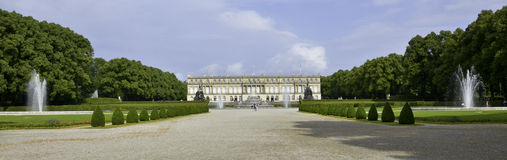 Herrenchiemsee Castle Royalty Free Stock Photo