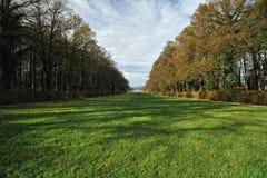 herrenchiemsee för bavariaslottträdgård Royaltyfri Bild