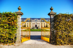 The Herrenhausen Gardens in Hanover, Germany Stock Photo
