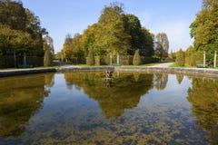 Herrenhauser庭院 库存照片