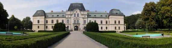 Herrenhausmuseum in Humenne, Stockbilder