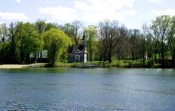 Herreninsel, lago Chiemsee Imagenes de archivo